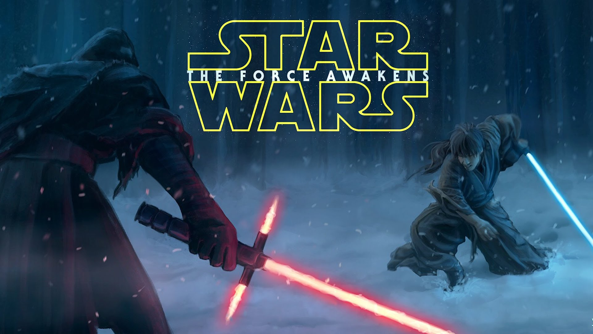 star wars the force awakens it will be watched wrath bearing tree